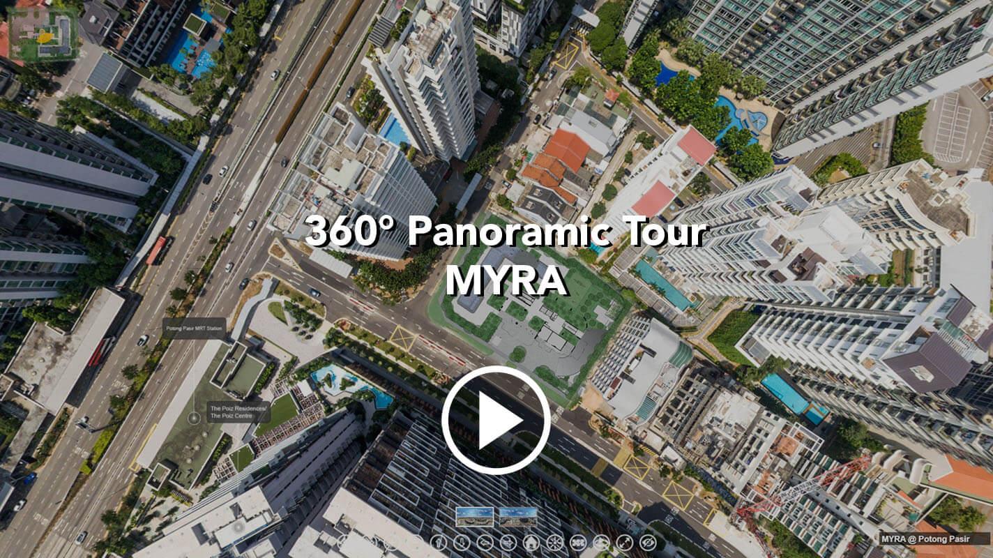 MYRA Potong Pasir Meyappa Chettiar Virtual Tour 360 Panorama